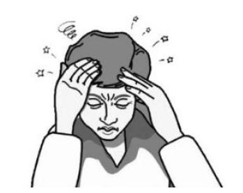 眩晕的症状:天旋地转
